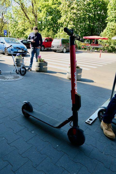 ヴィリニュス 電動スクーター - 1