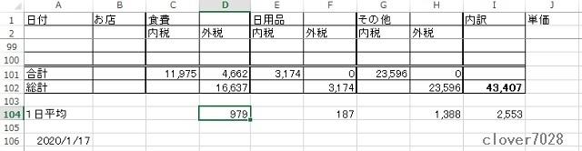 20200117_190600_Excel家計簿