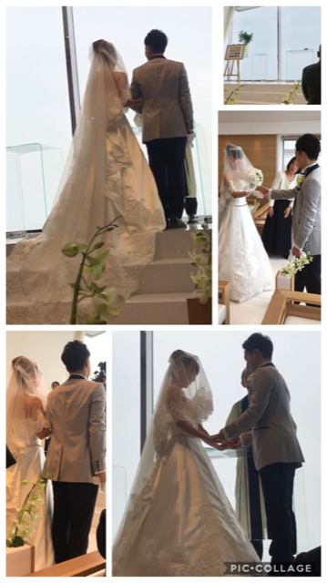 結婚式collage