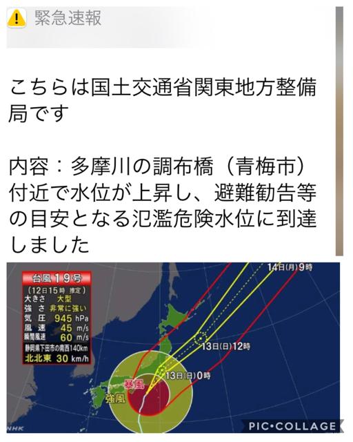 台風collage