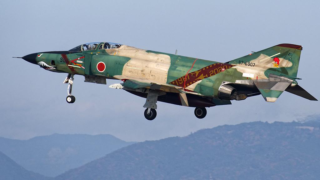 RF-4E 501SQファイナルイヤー2020 森林迷彩