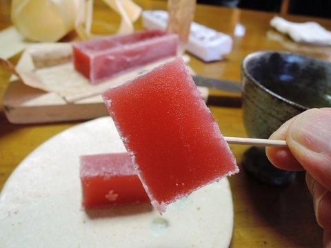 秋元司・赤い羊羹