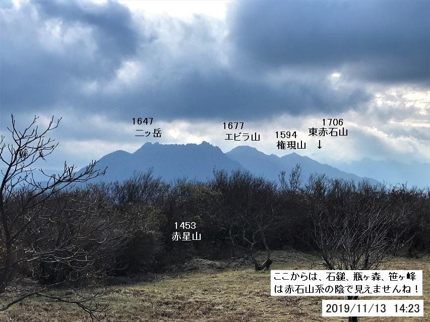 2019年、赤星山登山