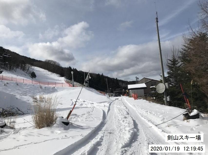 2020年1月19日剣山雪見