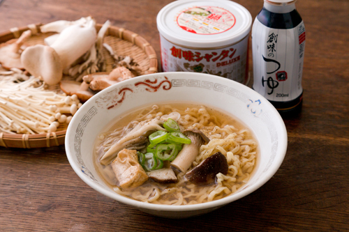 〆の茸拉麺s