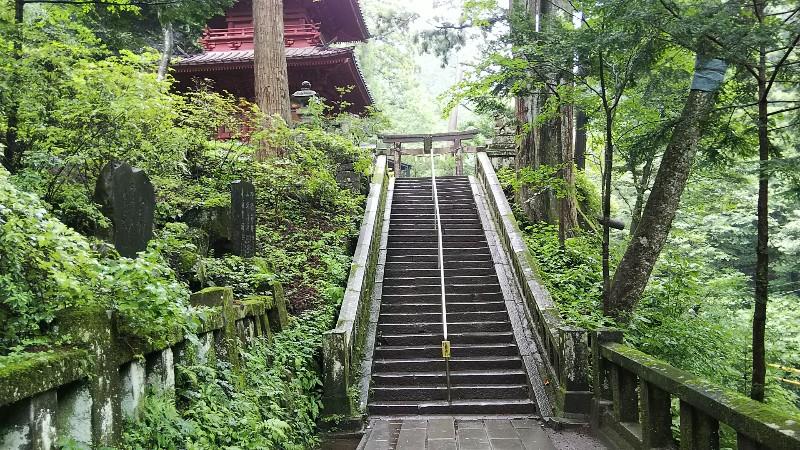 榛名神社参道②201908