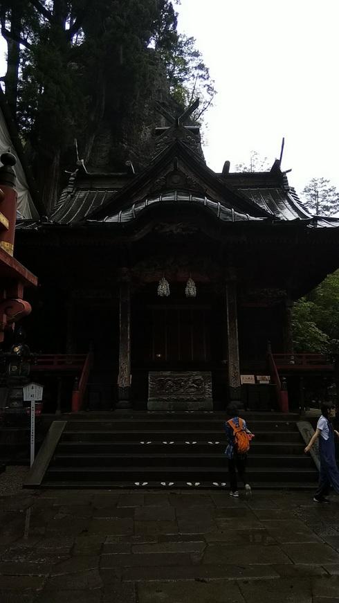 榛名神社本殿201908