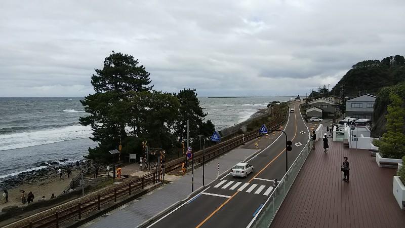 道の駅雨晴景色2019