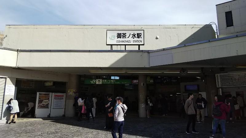 JRお茶の水駅201910