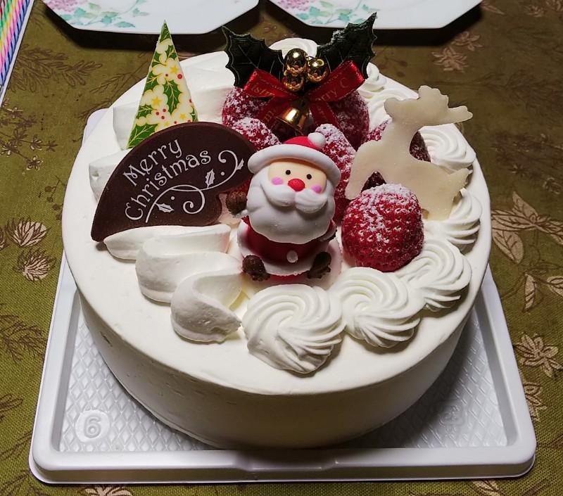 クリスマスケーキ201912