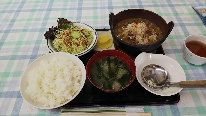 レストランまきばもつ煮定食2001
