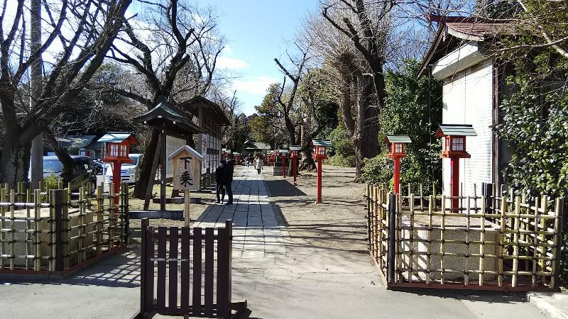 2鷲宮神社鳥居