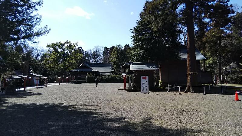 5鷲宮神社境内