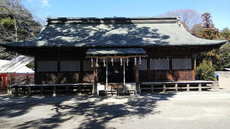 7鷲宮神社拝殿