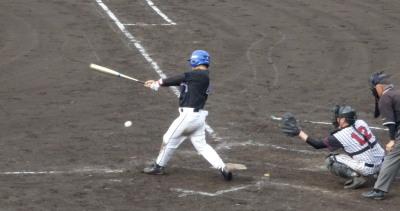 P6295181熊本市教組5回表1死二、三塁から6番の一ゴロで三走生還