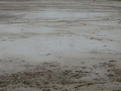 P7135729 3回表を終ったところで雨足も強くなる