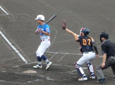 P7240298 次の6番が四球で一、二塁