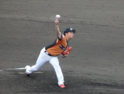 P7240360 エポック先発川本投手