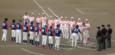 P8020892 一塁側 熊本日野 三塁側体育堂B