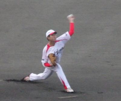 P8211815 熊本日野 先発投手