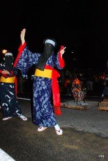 西馬音内盆踊り (2)
