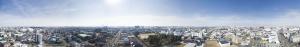 高度40m 空撮パノラマ