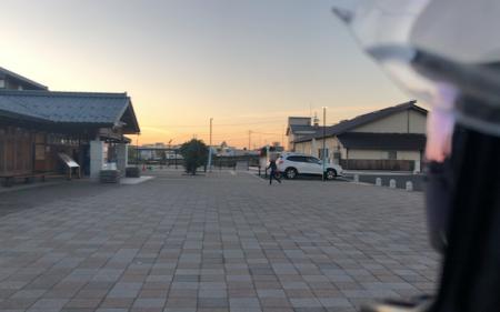 『道の駅 若狭おばま』夕暮れ