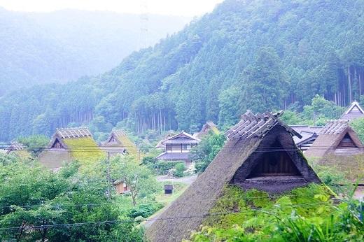 美山かやぶきの里  (2)