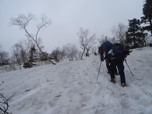 燕岳残雪期05