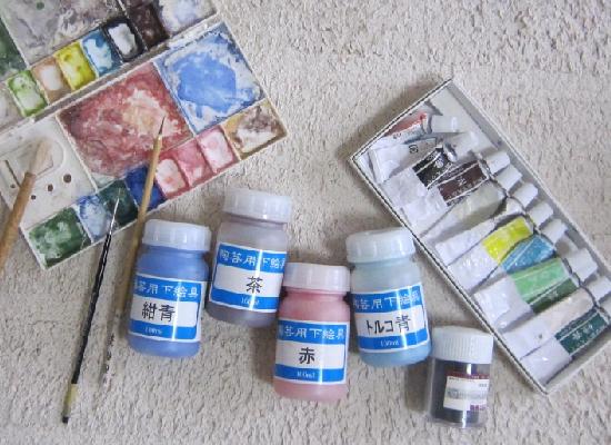 陶芸用下絵具