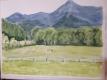八ヶ岳の風景画