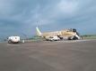 搭乗したフジドリームエアラインの飛行機