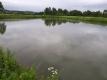 ため池が満水