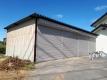塗装した倉庫