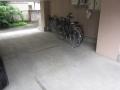 府中物件 駐輪場 ビフォー