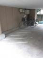 府中物件駐輪場完成2