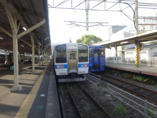 JR長崎本線長崎駅