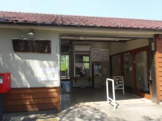 京都JR関西本線笠置駅