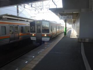 静岡JR東海道本線安倍川駅