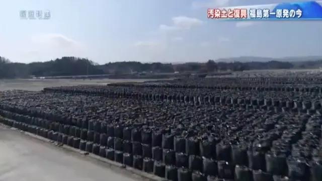 福島を埋め尽くす汚染土
