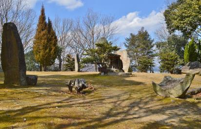 楯築遺跡の立石