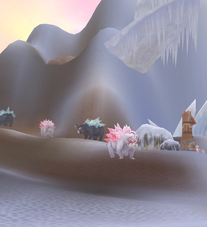 GFブログ(W10)用379A7 GFの風景・古代の極地 トゲトゲクマ公