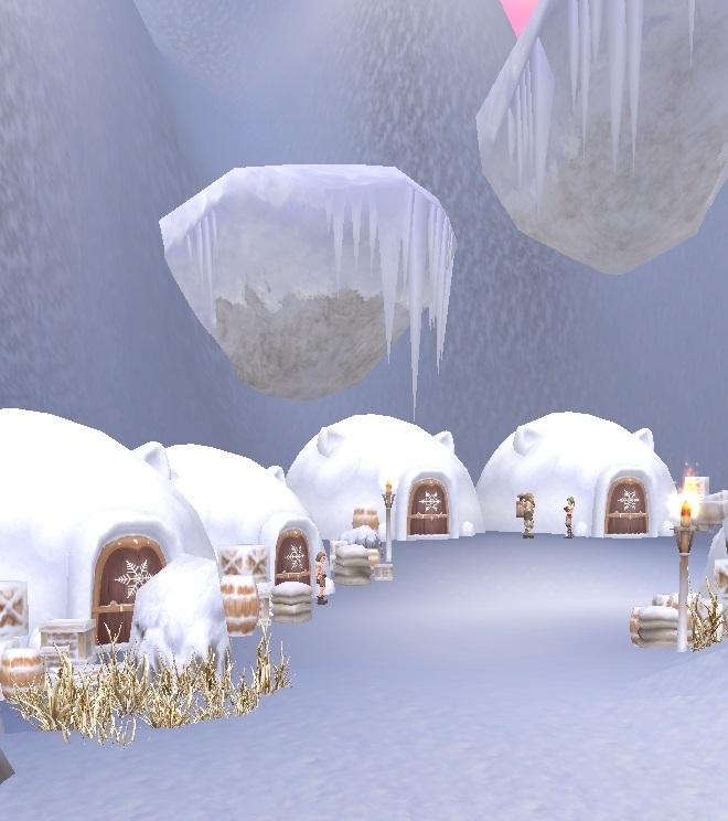 GFブログ(W10)用379A9 GFの風景・古代の極地 猫耳イグルー