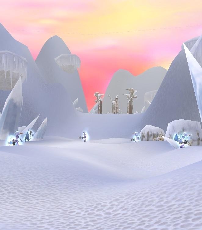 GFブログ(W10)用379A8 GFの風景・古代の極地 運命のMOBどもとカジス祭壇