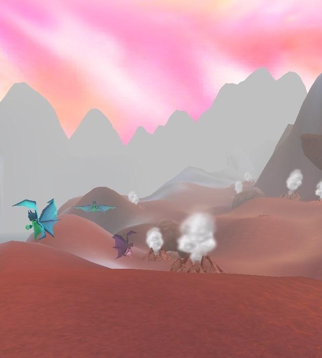 GFブログ(W10)用379A15 GFの風景・古代の極地 ゴブリンコウモリ