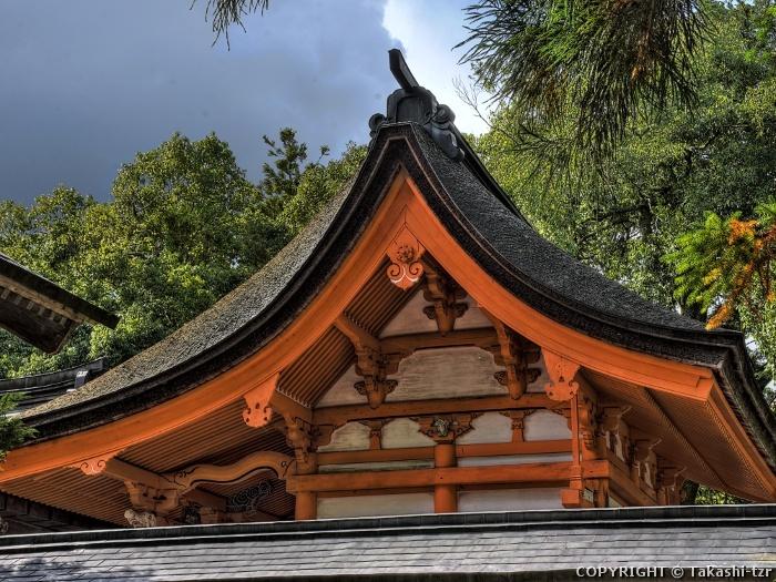 中島神社本殿