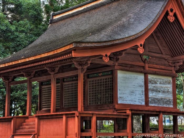 島田神社本殿