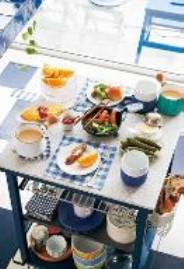 harumi ワークトップワゴン朝食