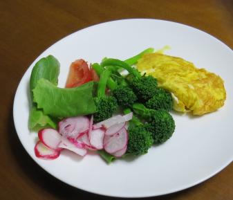 旬野菜料理ブロッコリー