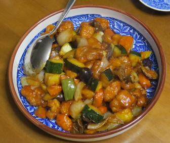 旬野菜料理ズッキーニ
